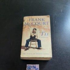 Libros de segunda mano: FRANK MCCOURT. Lote 284194143