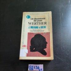 Libros de segunda mano: LAS DESVENTURAS DEL JOVEN. Lote 284209758
