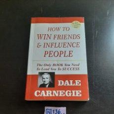 Libros de segunda mano: DALE CARNEGIE. Lote 284212028
