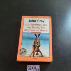 Libros de segunda mano: JOHN GRAY. Lote 284212568