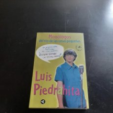 Libros de segunda mano: LUIS PIEDRAHITA. Lote 284308553