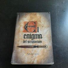 Libros de segunda mano: ENIGMA DEL SCRIPTORIUM. Lote 284325833