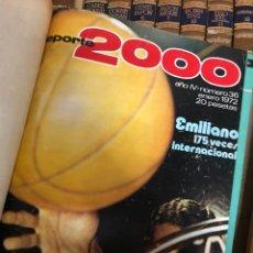 Libri di seconda mano: RETAPADO REVISTA DEPORTE 2000 TOMO III AÑOS 70 CON NÚMEROS DEL AÑO IV. Lote 284647913