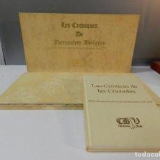 Libros de segunda mano: FACSIMIL , CRÓNICAS DE LAS CRUZADAS DE JERUSALÉN - CLUB BIBLIÓFILO VERSOL TIRADA DE 575. Lote 285142093