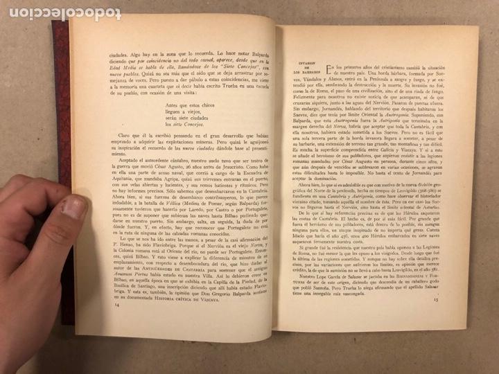 Libros de segunda mano: MONOGRAFÍA HISTÓRICA DE LA MUY NOBLE VILLA Y PUERTO DE PORTUGALETE. M. CIRIAQUIAIN GAIZTARRO. (1942) - Foto 4 - 285148203