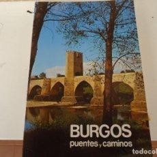 Libros de segunda mano: BURGOS PUENTES Y CAMINOS Nº 4. Lote 285270878