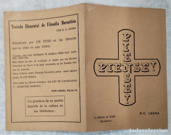 Libros de segunda mano: LOTE 8 REVISTAS ROSA-CRUZ DE ORO Y 3 HOJAS SUELTAS FRATERNIDAD ROSA-CRUZ AÑOS 50 - Foto 4 - 285421618