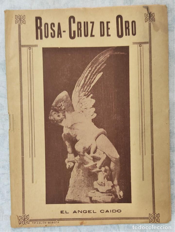 Libros de segunda mano: LOTE 8 REVISTAS ROSA-CRUZ DE ORO Y 3 HOJAS SUELTAS FRATERNIDAD ROSA-CRUZ AÑOS 50 - Foto 7 - 285421618