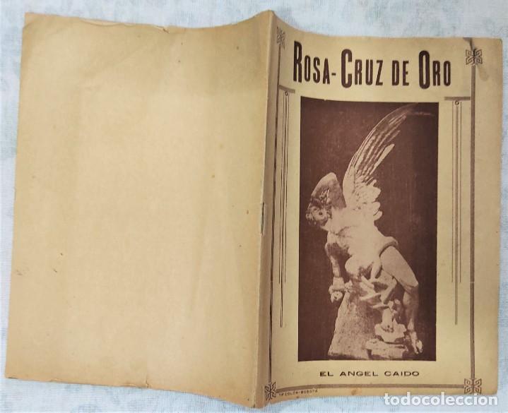 Libros de segunda mano: LOTE 8 REVISTAS ROSA-CRUZ DE ORO Y 3 HOJAS SUELTAS FRATERNIDAD ROSA-CRUZ AÑOS 50 - Foto 8 - 285421618