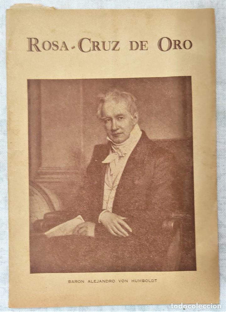 Libros de segunda mano: LOTE 8 REVISTAS ROSA-CRUZ DE ORO Y 3 HOJAS SUELTAS FRATERNIDAD ROSA-CRUZ AÑOS 50 - Foto 13 - 285421618