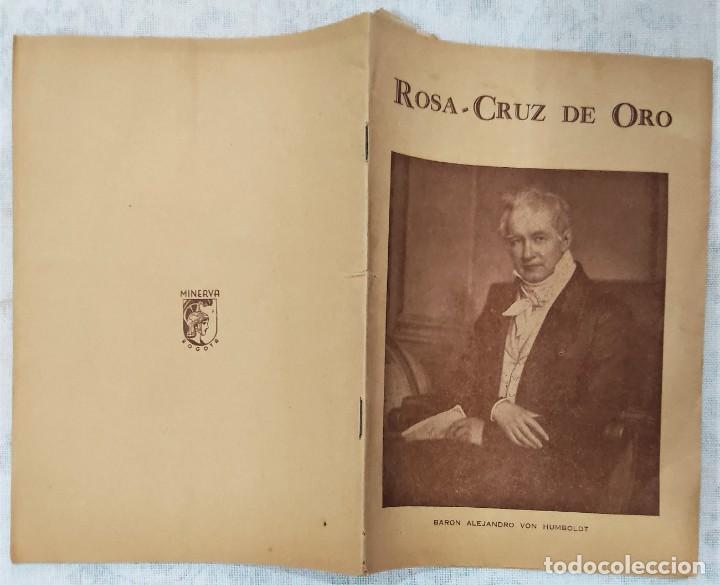 Libros de segunda mano: LOTE 8 REVISTAS ROSA-CRUZ DE ORO Y 3 HOJAS SUELTAS FRATERNIDAD ROSA-CRUZ AÑOS 50 - Foto 14 - 285421618