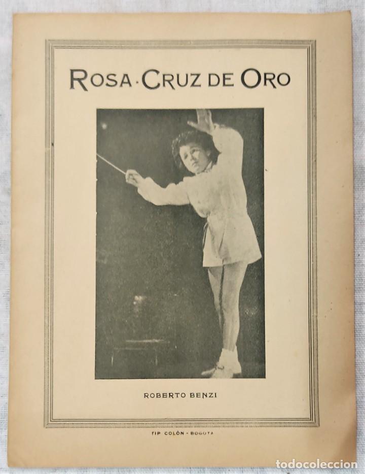 Libros de segunda mano: LOTE 8 REVISTAS ROSA-CRUZ DE ORO Y 3 HOJAS SUELTAS FRATERNIDAD ROSA-CRUZ AÑOS 50 - Foto 15 - 285421618