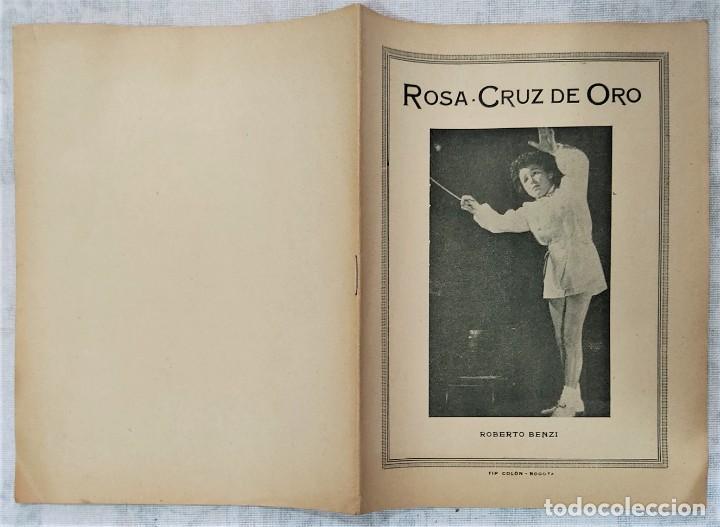 Libros de segunda mano: LOTE 8 REVISTAS ROSA-CRUZ DE ORO Y 3 HOJAS SUELTAS FRATERNIDAD ROSA-CRUZ AÑOS 50 - Foto 16 - 285421618
