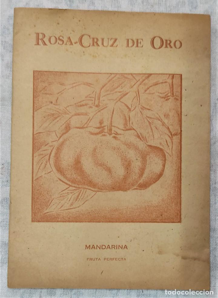 Libros de segunda mano: LOTE 8 REVISTAS ROSA-CRUZ DE ORO Y 3 HOJAS SUELTAS FRATERNIDAD ROSA-CRUZ AÑOS 50 - Foto 17 - 285421618