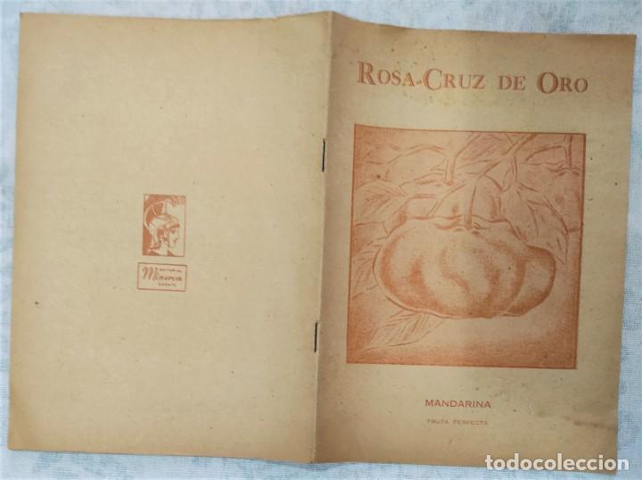 Libros de segunda mano: LOTE 8 REVISTAS ROSA-CRUZ DE ORO Y 3 HOJAS SUELTAS FRATERNIDAD ROSA-CRUZ AÑOS 50 - Foto 18 - 285421618