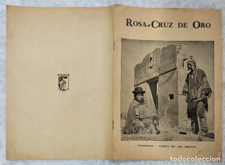 Libros de segunda mano: LOTE 8 REVISTAS ROSA-CRUZ DE ORO Y 3 HOJAS SUELTAS FRATERNIDAD ROSA-CRUZ AÑOS 50 - Foto 20 - 285421618