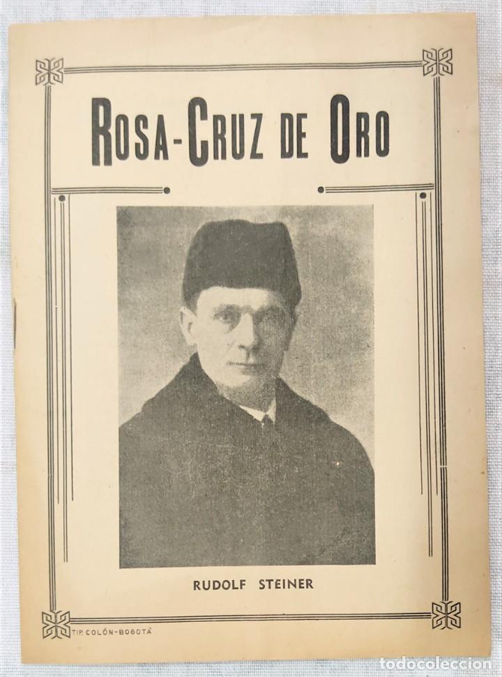 Libros de segunda mano: LOTE 8 REVISTAS ROSA-CRUZ DE ORO Y 3 HOJAS SUELTAS FRATERNIDAD ROSA-CRUZ AÑOS 50 - Foto 21 - 285421618