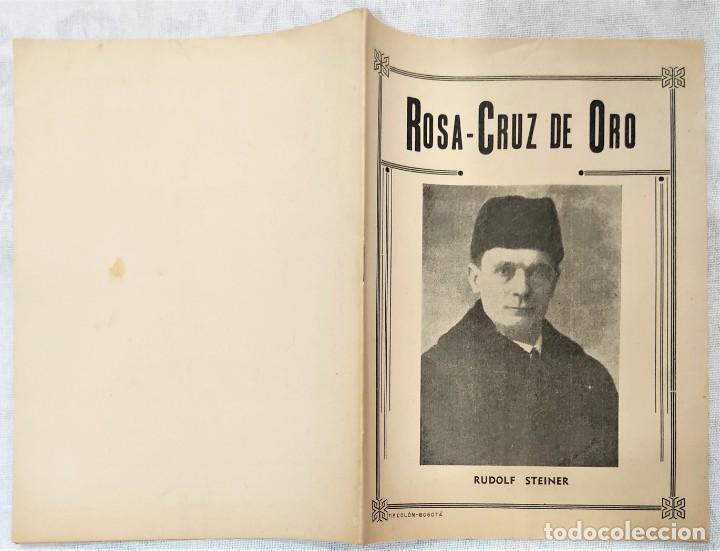 Libros de segunda mano: LOTE 8 REVISTAS ROSA-CRUZ DE ORO Y 3 HOJAS SUELTAS FRATERNIDAD ROSA-CRUZ AÑOS 50 - Foto 22 - 285421618