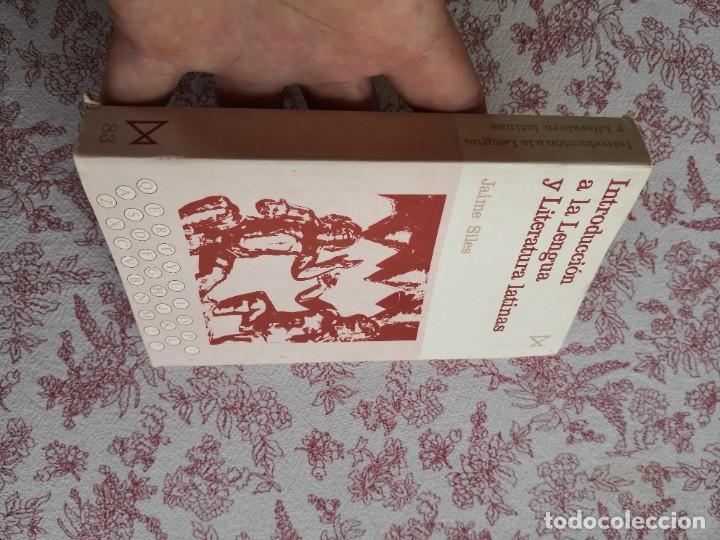 Libros de segunda mano: Introducción a la lengua y literatura latinas Jaime Siles -Envío certificado 4.99 - Foto 3 - 285537438