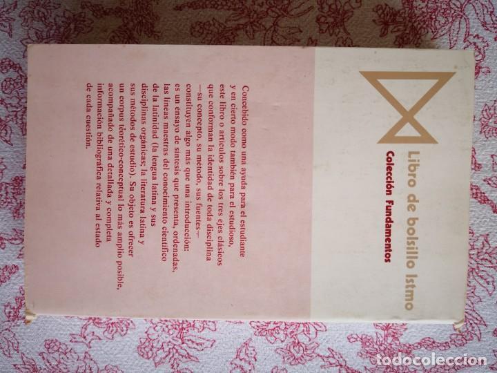 Libros de segunda mano: Introducción a la lengua y literatura latinas Jaime Siles -Envío certificado 4.99 - Foto 4 - 285537438