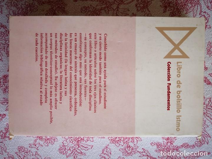 Libros de segunda mano: Introducción a la lengua y literatura latinas Jaime Siles -Envío certificado 4.99 - Foto 5 - 285537438