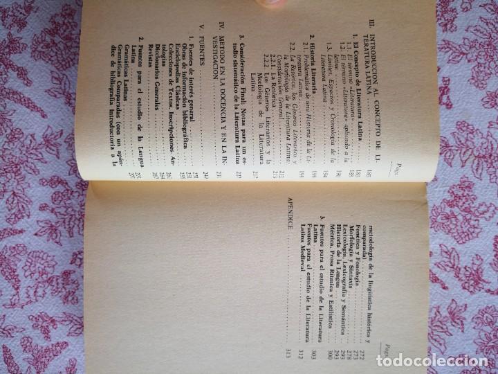 Libros de segunda mano: Introducción a la lengua y literatura latinas Jaime Siles -Envío certificado 4.99 - Foto 8 - 285537438