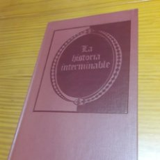 Livres d'occasion: LA HISTORIA INTERMINABLE MICHAEL ENDE CON DIBUJOS DE ROSWITHA QUADFLIEG. Lote 285639778
