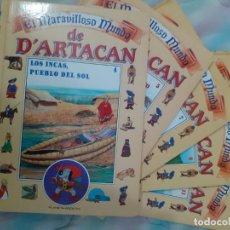 Libros de segunda mano: EL MARAVILLOSO MUNDO DE D'ARTACAN - TOMOS 4, 5, 7, 9 Y 11 (VER DESCRIPCIÓN Y FOTOS). Lote 286015293