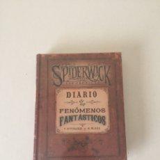 Libros de segunda mano: CRÓNICAS SPIDERWICK DIARIO DE LOS FENÓMENOS FANTÁSTICOS - LIBRO DITERLIZZI Y BLACK TOLKIEN LOVECRAFT. Lote 286144273