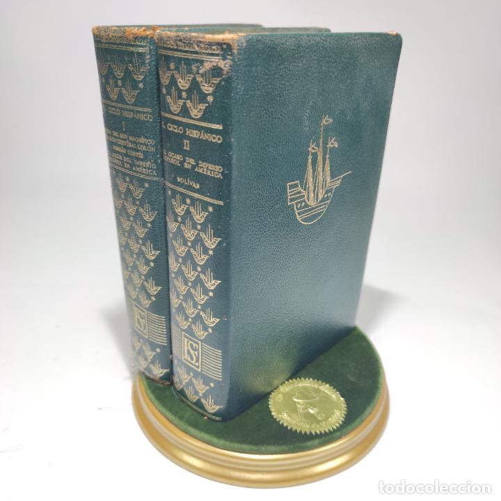 EL CICLO HISPÁNICO. SALVADOR DE MADARIAGA. 2 TOMOS. EDITORIAL SUDAMERICANA. BUENOS AIRES. 1958. (Libros de Segunda Mano - Historia - Otros)
