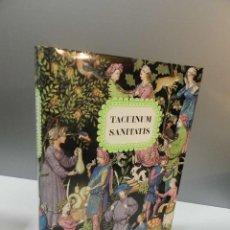Livros em segunda mão: TACUINUM SANITATIS - LIBRO ESTUDIO - EDITORIAL MOLEIRO - NO FACSIMIL. Lote 286508678