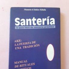 Libros de segunda mano: SANTERÍA - MAMETO TE INKICE KILUFA -ENVÍO CERTIF TC 4,99. Lote 286540648