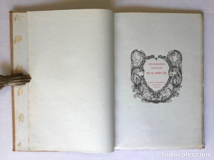 XILOGRAFIAS ANTIGUAS DEL BTO. RAMON LLULL. - [FACSÍMIL.] (Libros de Segunda Mano - Bellas artes, ocio y coleccionismo - Otros)