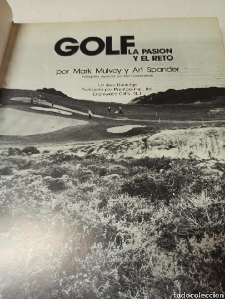 Libros de segunda mano: Golf la pasión y el reto. Mark Mulvoy y Art Spander. - Foto 2 - 286642553