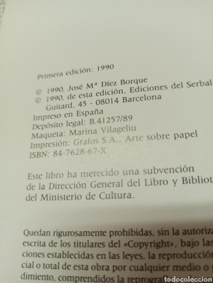 Libros de segunda mano: La vida española en el siglo de oro según los extranjeros, Diez-Borque, Educación. Serbal 1990 - Foto 2 - 286644293