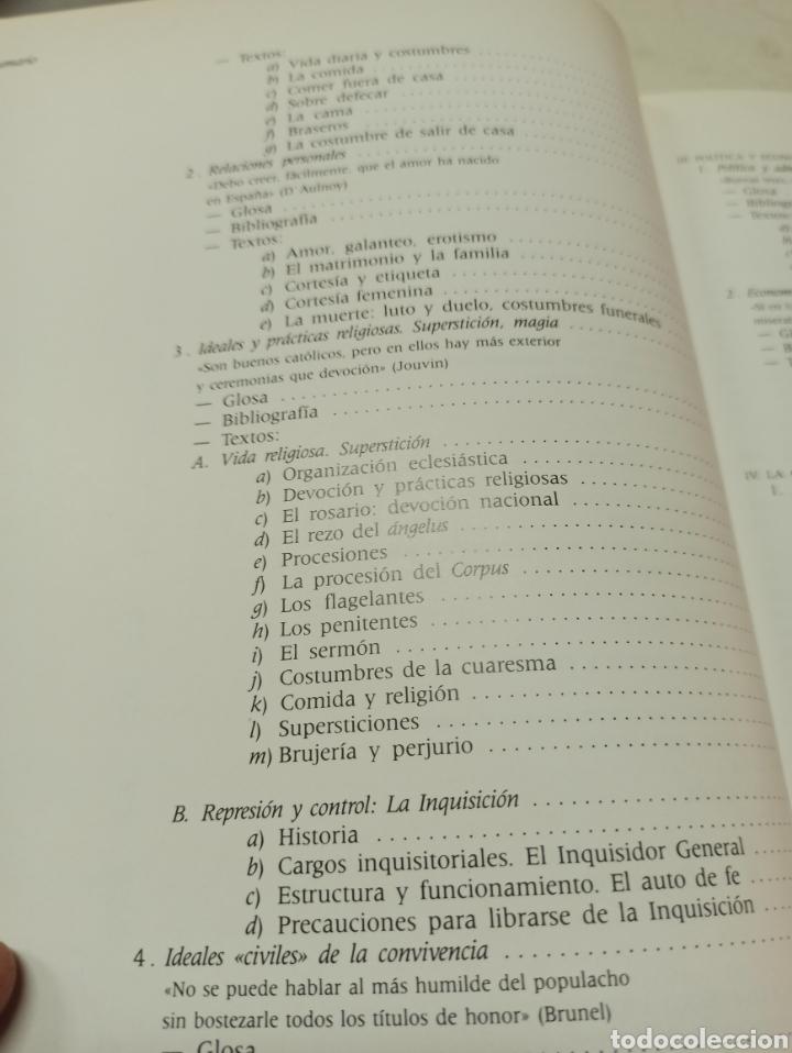 Libros de segunda mano: La vida española en el siglo de oro según los extranjeros, Diez-Borque, Educación. Serbal 1990 - Foto 4 - 286644293