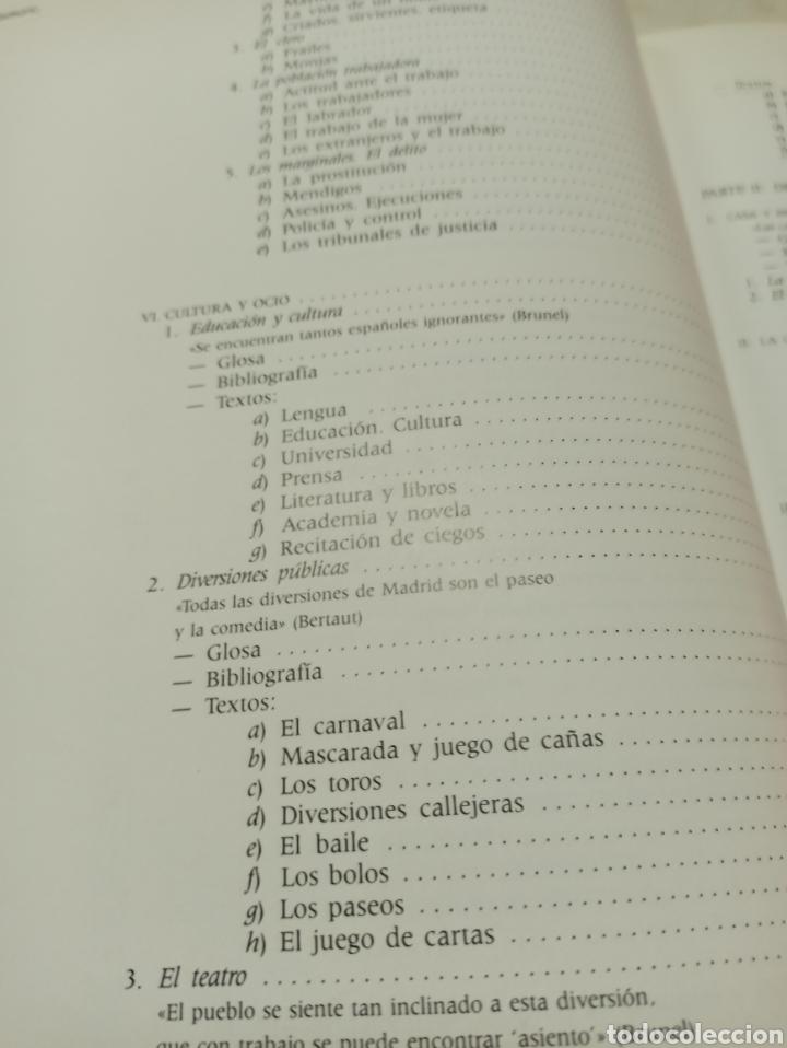 Libros de segunda mano: La vida española en el siglo de oro según los extranjeros, Diez-Borque, Educación. Serbal 1990 - Foto 6 - 286644293