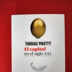 Libros de segunda mano: EL CAPITAL EN EL SIGLO XXI - THOMAS PIKETTY - FONDO DE CULTURA ECONÓMICA 1 ED 2014. Lote 286651508