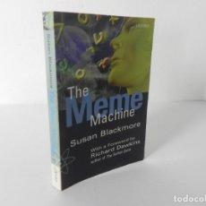 Libros de segunda mano: THE MEME MACHINE (SUSAN BLACKMORE) OXFORD UNIVERSITY PRESS-1999. Lote 286691368
