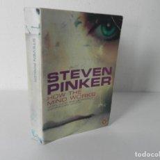 Libros de segunda mano: HOW THE MIND WORKS (STEVEN PINKER) PENGUINBOOKS-1999. Lote 286696643