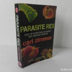 Libros de segunda mano: PARASITE REX (INSIDE THE BIZARRE WORLD OF NATURE'S MOST DANGEROUS CREATURES) CARL ZIMMER) ARROW-2003. Lote 286703598