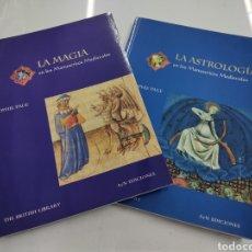 Libros de segunda mano: LA MAGIA / LA ASTROLOGIA EN LOS MANUSCRITOS MEDIEVALES.- SOPHIE PAGE (2006) BELLAS ILUSTRACIONES. Lote 286705113
