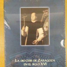 Libros de segunda mano: LA DIÓCESIS DE ZARAGOZA EN EL SIGLO XVI. EL PONTIFICADO DE DON HERNANDO DE ARAGÓN (1539-1575). Lote 286771228