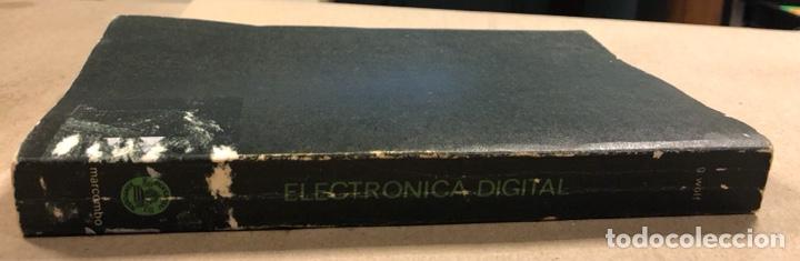 Libros de segunda mano: ELECTRÓNICA DIGITAL. GERHARD WOLF. MARCOMBO BOIXAREU EDITORES 1983. - Foto 10 - 286958853