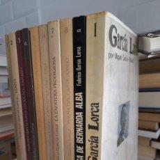 Livres d'occasion: LOTE DE LIBROS DE Y SOBRE FEDERICO GARCÍA LORCA. TODOS EN BUEN ESTADO.. Lote 287088373