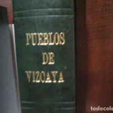 Libros de segunda mano: COLECCIÓN COMPLETA DE LOS PUEBLOS DE VIZCAYA - EL CORREO DE VIZCAYA (1973-1975) - 56 FASCÍCULOS. Lote 287096598