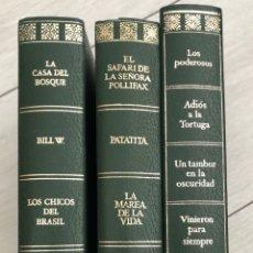 Libri di seconda mano: LOTE O COLECCION DE 3 LIBROS CON 4 NOVELAS CADA UNO. Lote 287165693
