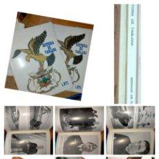 Libros de segunda mano: AERONAUTICA LIBROS DE LA HISTORIA DE TABLADA 1971 AVIACION AVIONES SEVILLA - 2 EDICIONES DISTINTAS. Lote 287207383