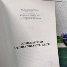 Libri di seconda mano: FUNDAMENTOS DE HISTORIA DEL ARTE.. Lote 287233823