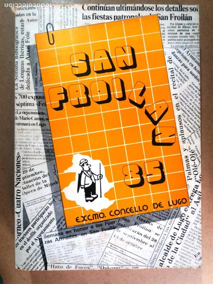 LUGO GALICIA SAN FROILAN 85 RECOPILATORIO DE PRENSA ESCRITA (VER FOTOS) (Libros de Segunda Mano - Historia - Otros)